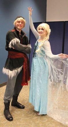 Kristoff and Elsa can not wait to meet their fans - Frozen Sing along - Spring Break 2015