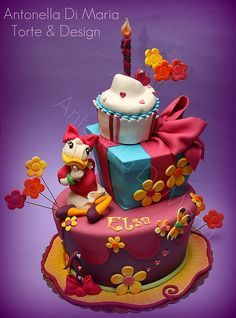 Elsa paperina 1 by antonella di maria torte & design, via Flickr