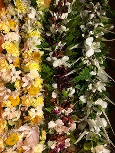 Hawaiian Leis, Wedding Garlands, Graduation Leis, Illustration, Floral, Plants, Florals, Illustrations, Flowers