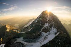 Sunrise at Alberta's Rockies.