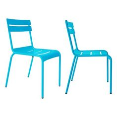 Volans Stacking Patio Dining Chair (Set of 2)