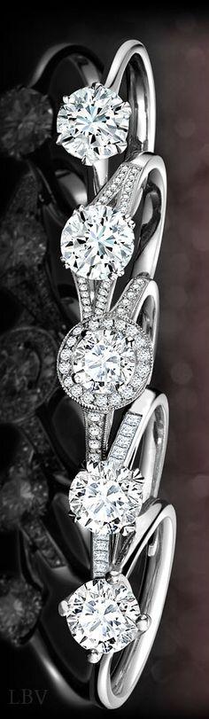Diamond Engagement Styles | LBV S14 ♥✤