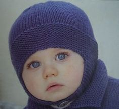 bonnet_2 Headgear, Baby Items, Knitted Hats, Knitting Patterns, Textiles, Socks, Point Mousse, Blog, Fashion