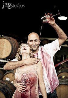 Trash the Dress - Wine