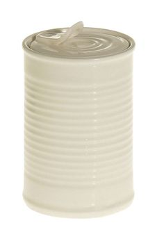 Small Porcelain Jar with opening lid.
