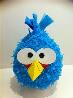 More Angry Bird pinata
