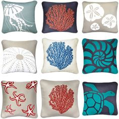 alternative ring pillow? all it needs is ribbon. I like the shell spiral, 2nd row, 3 pillow.