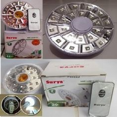 LAMPU LED EMERGENCY REMOTE SURYA DAN LUBY