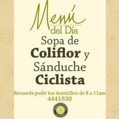 Decide que tu #Lunes sea diferente... disfruta del #MenuDelDía de #MundoVerde y siente lo #Saludable de nuestro #Sabor #Gourmet.