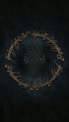 """""""One ring to rule them all, one ring to bind them, one ring to bring them all and in the darkness bind them. Tolkien - passage from The Lord of The Rings. Symbol of Gondor in centre. Legolas, Aragorn, Gandalf, Lord Of Rings, Fellowship Of The Ring, The Lord Of The Rings, Jrr Tolkien, Das Silmarillion, Midle Earth"""