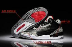 info for e1764 ad42a Air Jordan Retro 3 AAA Men s shoes Black White Jordan 1, Jordan Retro 3