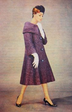 OĞUZ TOPOĞLU : pierre cardin 1959 manto modelleri 3