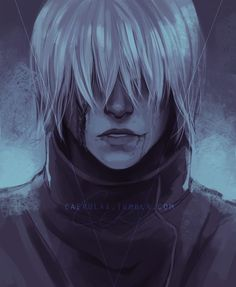 Badass Pictures, Anime People, Shinigami, Character Portraits, Kaneki, Dragon Age, Akatsuki, Tokyo Ghoul, Anime Love
