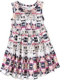 Patterned Tiered Dresses for Baby
