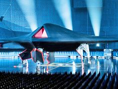 The Phantom Ray Drone - Military drones of the future, Looks like something out of a SciFi movie.