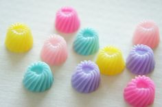 SALE 10 pcs Jelly Cabochon 16mm CD384 by misssapporo on Etsy