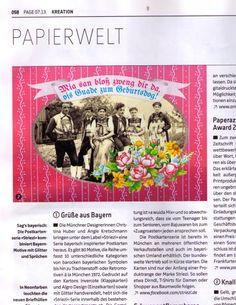 Striezi - Pressespiegel PAGE