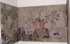 Fresque Lucien Jacques au Centre Giono de Manosque  Crédit : Ville de Manosque