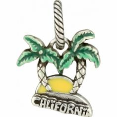 A California Charm to represent the home team Anaheim Ducks and the trips to the Los Angeles Kings and San Jose Sharks games #BrightonCollectibles