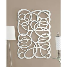 Coaster Company Decorative Swirl Wall Mirror | Overstock.com Shopping - The Best Deals on Mirrors