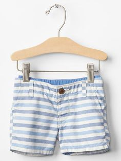 Pull-on oxford shorts Product Image