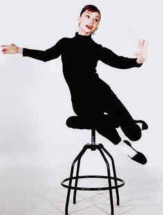 "Audrey Hepburn ""Funny Face"""