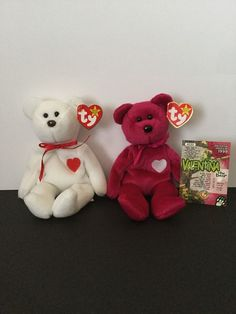 Valentino Defect Valentina Rare Beanie Babies Tag Errors Collector Card Mint 33d5ec907237