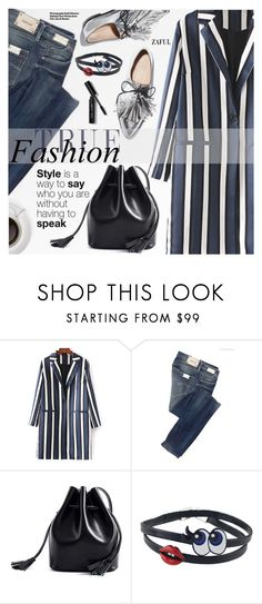 """""""Casual Chic"""" by pokadoll ❤ liked on Polyvore featuring Replay, Loeffler Randall, Bobbi Brown Cosmetics, Hedi Slimane, polyvoreeditorial, polyvorefashion, polyvoreset and zaful"""