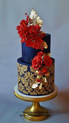 Wedding Cake by Bear Brook Bakery