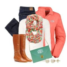 Love the colors on all but the boots