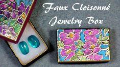 faux cloisonne jewelry box tutorial