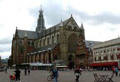 Image detail for -Famous Buildings at Haarlem in Netherlands Harlem, Historic City and ...