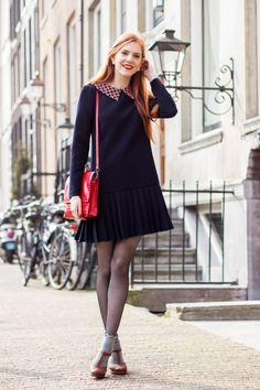 Pleats & Grey Socks - FFF - Retro Sonja