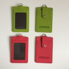 Card holder, ID holder, ID badge holder