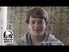 """Taco Bell's new ad campaign is called """"Guess Who Loves Taco Bell's New Breakfast"""":   Taco Bell Went And Got A Bunch Of Men Named Ronald McDonald To Advertise Their New Breakfast Menu"""
