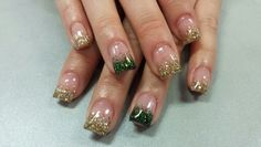 St Patrick ' s day nails by lacy