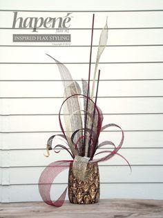 Large Hapene & Fernwood Arrangement - Hapene Online Store, flax flowers and arrangements  ON SALE $150