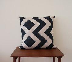 Scandinavian Pillow Cover 18x 18 Decorative Pillow by BeadandReel