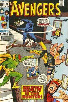 Cover for The Avengers (Marvel, 1963 series) #74