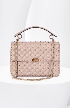 Valentino 'Rockstud Matelassé' Shoulder Bag available at #Nordstrom