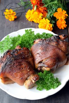 Pork Hock, Food 52, Steak, Food And Drink, Turkey, Cooking Recipes, Keto, Health, Cake