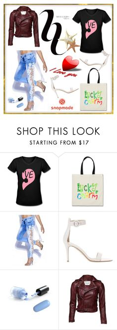 """""""SNAPMADE #1-III"""" by nizaba-haskic ❤ liked on Polyvore featuring Gianvito Rossi"""