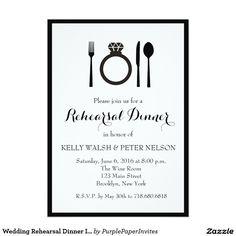 Wedding Rehearsal Dinner Invitation                                                                                                                                                                                 More