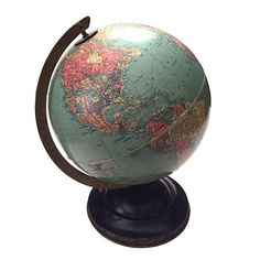 The 27 best map globe images on pinterest globes map globe and replogle desktop world globe sphere replogle world globe circa 1938 1948 10 gumiabroncs Image collections