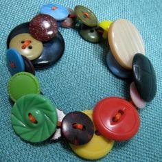 Button bracelet pattern and instructions