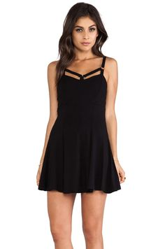 LENNI Harness Dress in Black from REVOLVEclothing