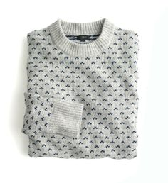 Erskine Fair Isle sweater.