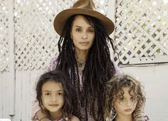 LISA BONET AND KIDS ATTEND MERCADO SAGRADO - Black Celebrity Kids