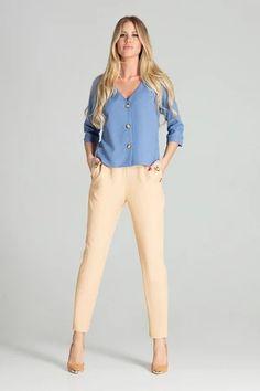 Shirt model 141752 Figl – Blushgreece.shop Shirt Sleeves, Blouse, Khaki Pants, Shirts, Women, Products, Fashion, Dress Shirt, Fashion Ideas