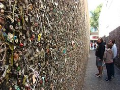 Bubble Gum Alley, San Luis Obispo, CA  I grew up here and contributed many pieces to the walls.